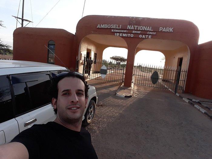 Entrada del Amboseli National PArk