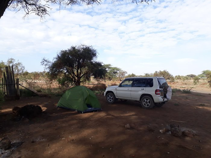 Alojamiento en Kimana Camp