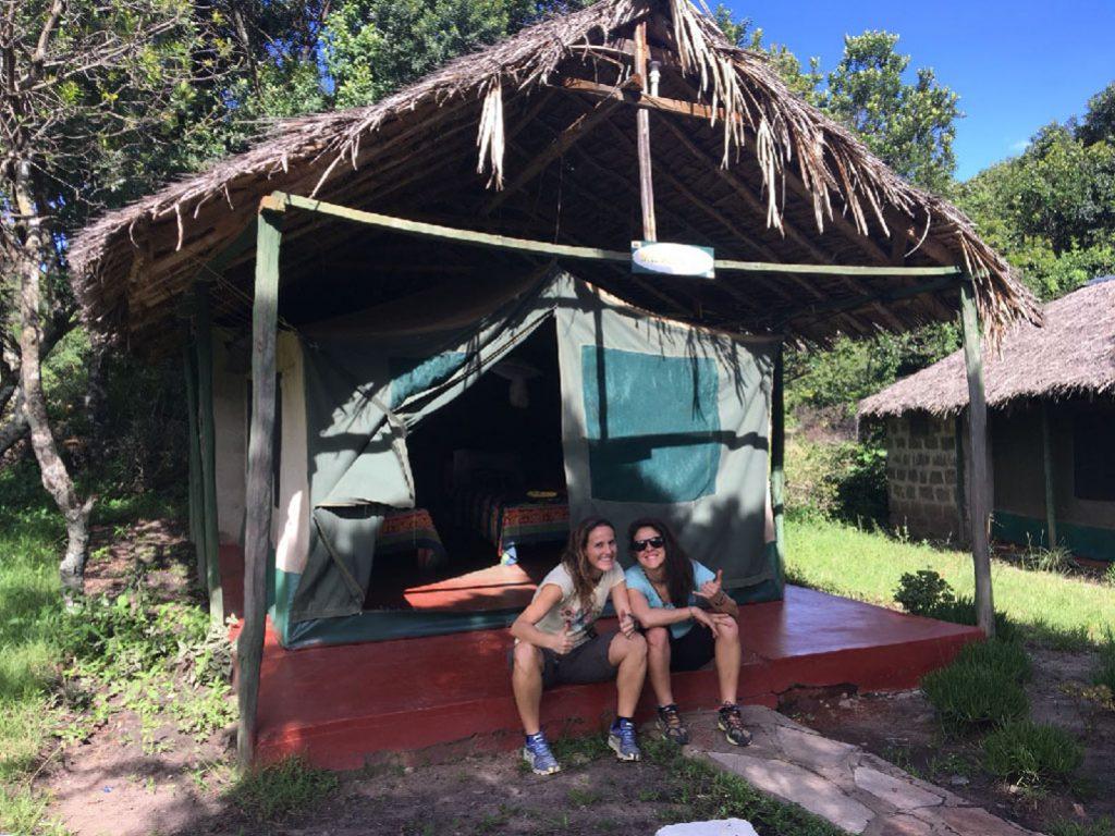 Tend Camp en el Masai Mara en Kenia