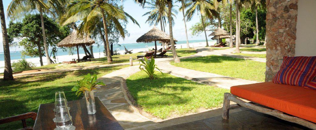 Resort en las playas de Diani en Kenia