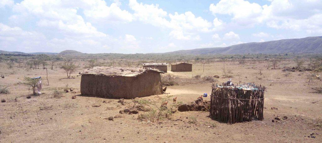 Aldea Masai en Kenia