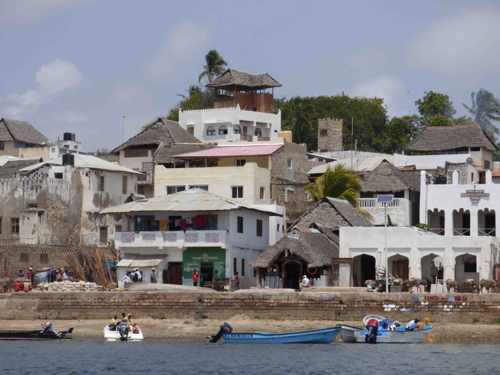 Casas en la isla de Lamu