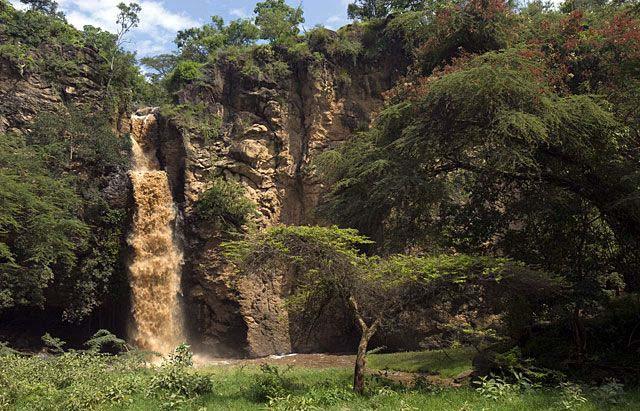 Makalia Falls en Nakuru viajar por libre