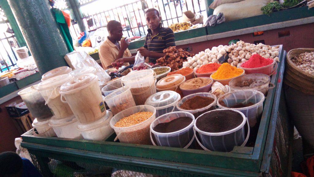 Mercado en Mombasa