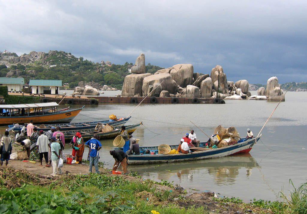 La pesca en el lago Victoria es la principal fuente económica de los Luos