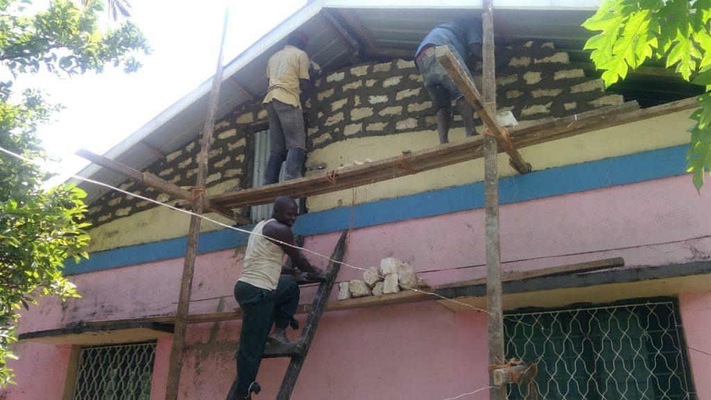 Voluntarios en Kenia