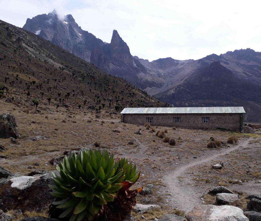 Mount Kenya desde Naro Moru