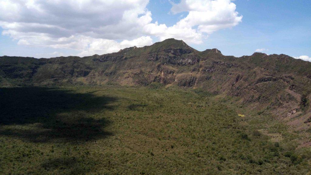 Cráter del volcán Longonot