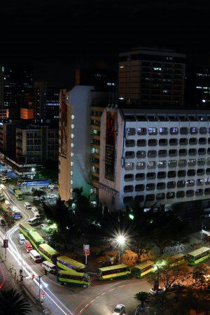 Nairobi de noche