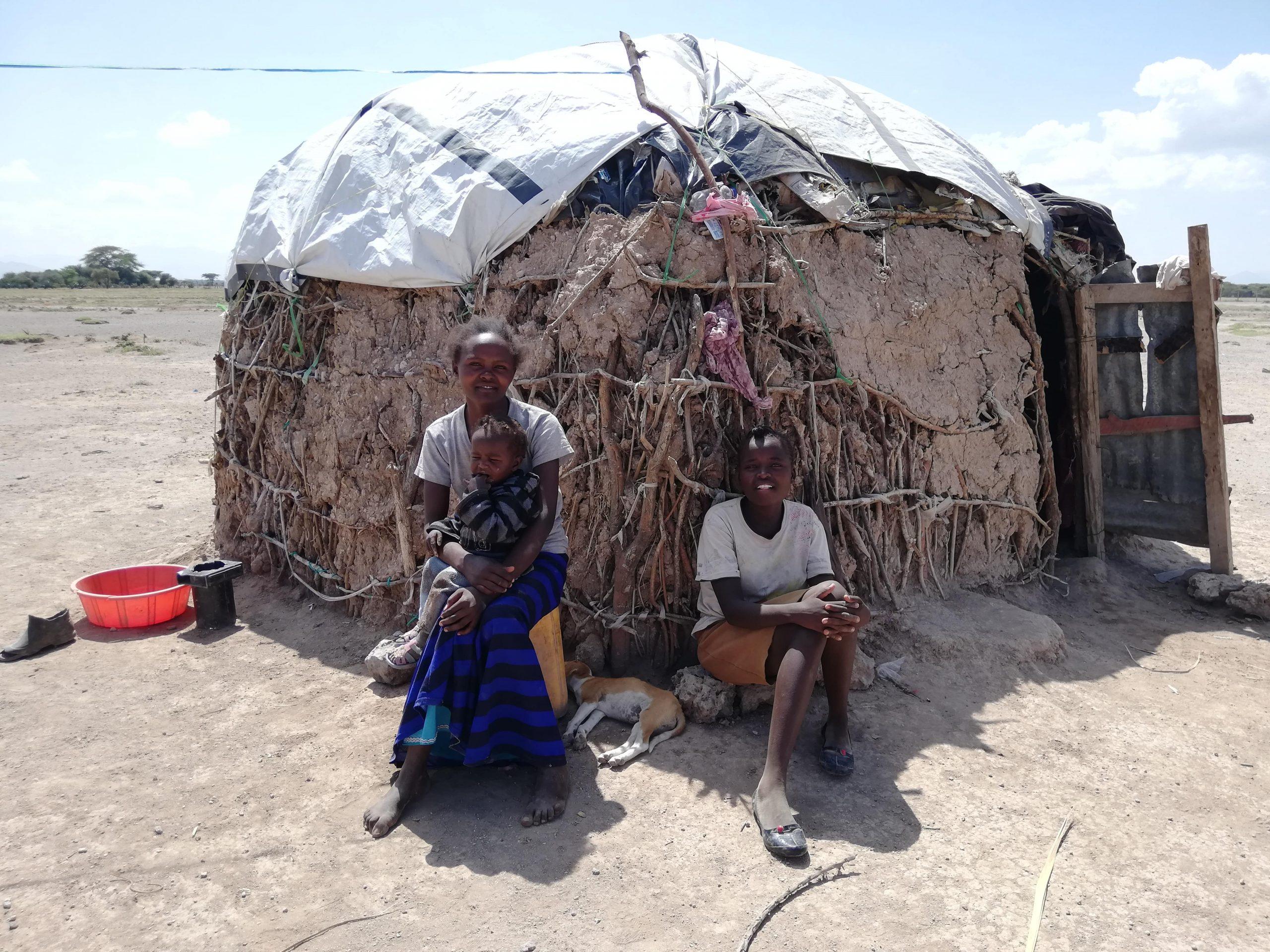 Habitantes del poblado de Chumvi